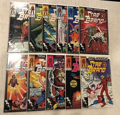 Picture of STAR BRAND (1986) #1-10 + GIANT-SIZE ANNUAL