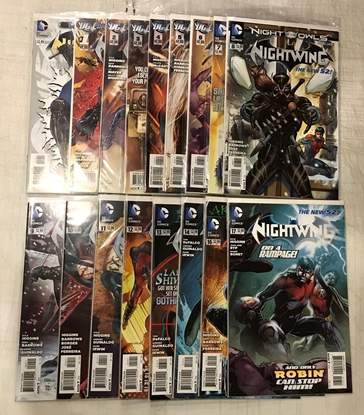 Picture of NIGHTWING (2011) #0-17 1ST PRINT SET VF/NM