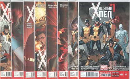 Picture of ALL NEW X-MEN (2012) #1-8 1ST PRINT SET