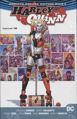 Picture of HARLEY QUINN REBIRTH DLX COLL HC BOOK 03