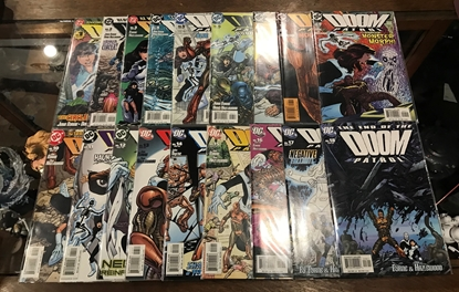 Picture of DOOM PATROL (2004) #1-18 SET NM-