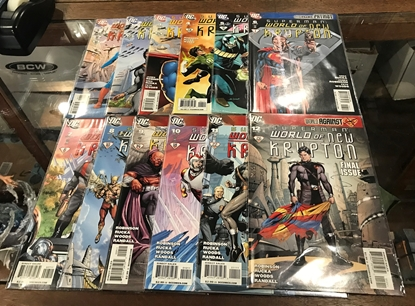 Picture of SUPERMAN WORLD OF NEW KRYPTON (2009) #1-12 SET VF/NM