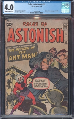 Picture of TALES TO ASTONISH (1959) #35 CGC 4.0 VG OWW
