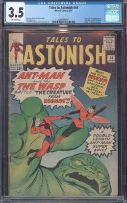 Picture of TALES TO ASTONISH (1959) #44 CGC 3.5 VG- OW