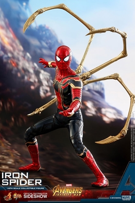 Picture of Iron Spider Avengers: Infinity War 1:6 scale hot toy
