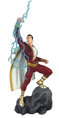 Picture of DC GALLERY SHAZAM COMIC PVC FIGURE (C: 1-1-2)