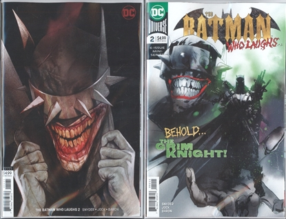 Picture of BATMAN WHO LAUGHS #2 1ST PRINT & VAR COVER SET NM