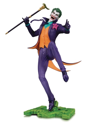 Picture of DC CORE THE JOKER PVC STATUE