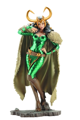 Picture of MARVEL LADY LOKI BISHOUJO STATUE (C: 1-1-2)