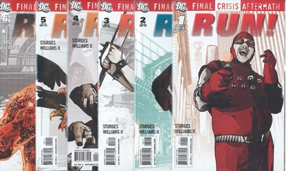Picture of FINAL CRISIS AFTERMATH: RUN #1-6 SET NM-