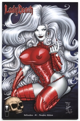 Picture of LADY DEATH HELLRAIDERS #1 (OF 1) NAUGHTY ED (MR)