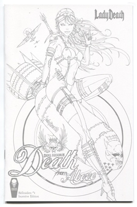 Picture of LADY DEATH HELLRAIDERS #1 (OF 1) 10 COPY TYNDALL INCV (MR)