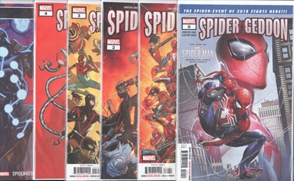 Picture of SPIDER-GEDDON (2018) #0 1 2 3 4 5 1ST PRINT SET NM