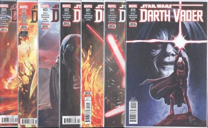 Picture of STAR WARS DARTH VADER #19-25 FORTRESS VADER SET NM