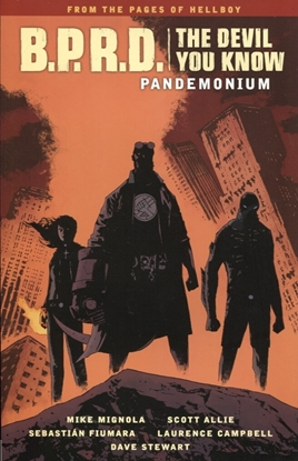 Picture of BPRD DEVIL YOU KNOW TP VOL 02 PANDEMONIUM
