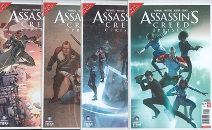 Picture of ASSASSINS CREED UPRISING #1-4 CVR A SET NM