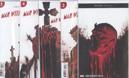 Picture of MAN WITHOUT FEAR (2018) #1-4 1ST PRINT SET NM