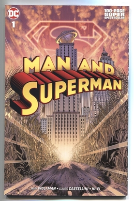 Picture of MAN AND SUPERMAN 100 PAGE SUPER SPECTACULAR #1