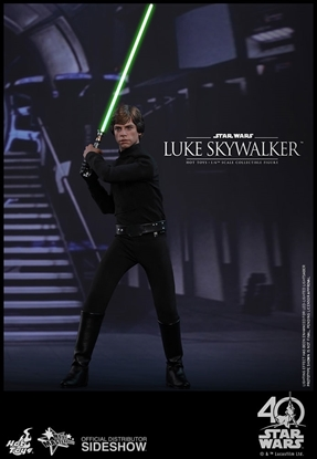 Picture of Luke Skywalker Return of the Jedi (black outfit)