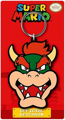 Picture of SUPER NINTENDO SUPER MARIO BROS KEYCHAIN- BOWSER