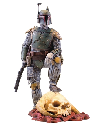 Picture of SW COLLECTORS GALLERY BOBA FETT 9IN STATUE