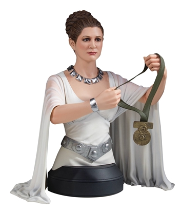 Picture of SW PRINCESS LEIA ORGANA HERO OF YAVIN MINI-BUST
