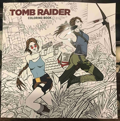Picture of TOMB RAIDER COLORING BOOK TP (C: 1-1-2)