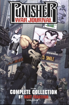 Picture of PUNISHER WAR JOURNAL FRACTION TP VOL 01 COMPLETE COLLECTION