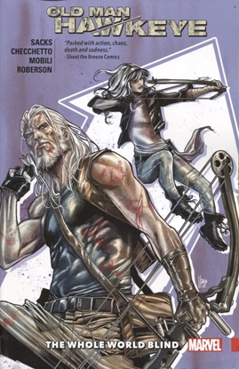 Picture of OLD MAN HAWKEYE TPB VOL 2 WHOLE WORLD BLIND