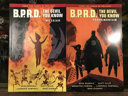 Picture of BPRD DEVIL YOU KNOW VOL 1 & 2 TPB SET