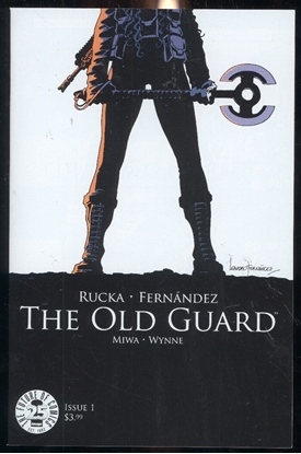 Picture of OLD GUARD #1 1ST PRINT
