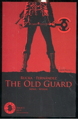 Picture of OLD GUARD #1 2ND PTG (MR)