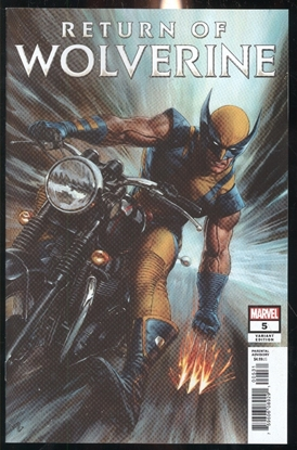 Picture of RETURN OF WOLVERINE #5 (OF 5) GRANOV VAR
