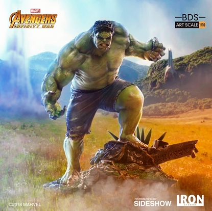 Picture of HULK  1:10 Statue IRON STUDIOS