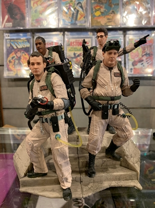 Picture of GHOSTBUSTERS RAY EGON PETER WINSTON 1:10 Statue IRON STUDIOS SET