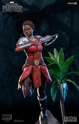 Picture of NAKIA BLACK PANTHER ART SCALE 1:10 BATTLE DIORAMA SERIES IRON STUDIOS