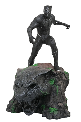 Picture of MARVEL MILESTONES BLACK PANTHER MOVIE STATUE