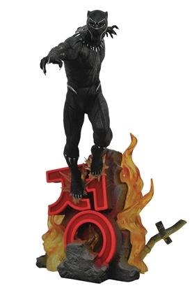 Picture of MARVEL PREMIERE BLACK PANTHER MOVIE STATUE