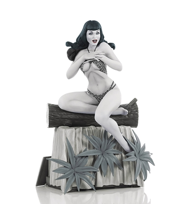 Picture of TERRY DODSON BETTIE PAGE B&W STATUE