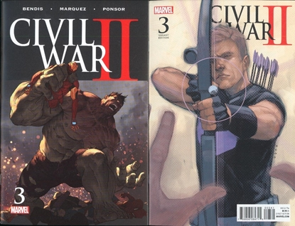 Picture of CIVIL WAR II #3 1ST PRINT & NOTO VAR COVER SET