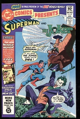 Picture of DC COMICS PRESENTS (1978) #41 9.4 NM
