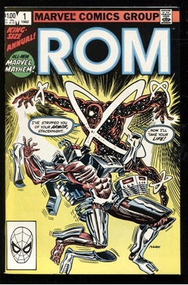 Picture of ROM (1979) ANNUAL #1 9.6 NM+