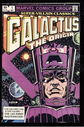 Picture of SUPER VILLAIN CLASSICS GALACTUS THE ORIGIN #1 9.4 NM