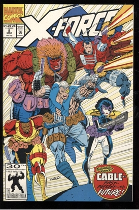 Picture of X-FORCE (1991) #8 9.4 NM