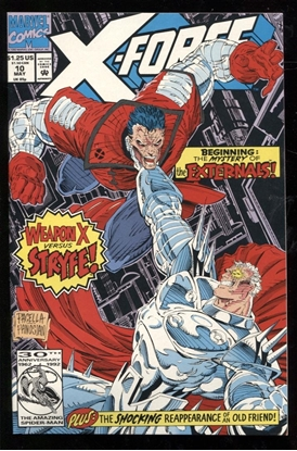 Picture of X-FORCE (1991) #10 9.4 NM