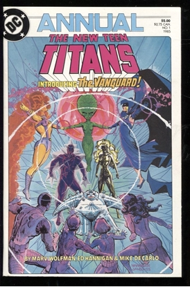 Picture of NEW TEEN TITANS ANNUAL (1984) #1 9.6 NM+