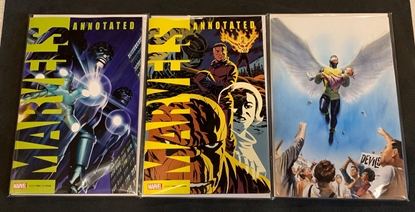 Picture of MARVELS ANNOTATED #2 CVR SET NM