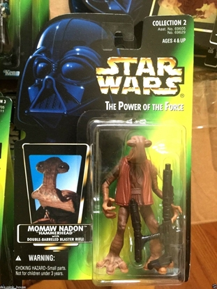 """Picture of STAR WARS ACTION FIGURE- MOMAW NADON """"HAMMERHEAD"""""""