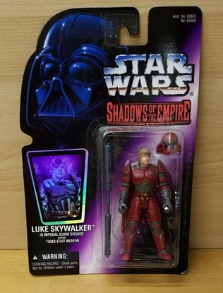 Picture of STAR WARS ACTION FIGURE SHADOWS OF THE EMPIRE- LUKE SKYWALKER IMPERIAL DISGUISE