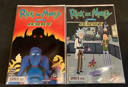 Picture of RICK & MORTY PRESENTS JERRY #1 CVR A & B SET NM
